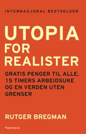 Utopia for realister bokforside